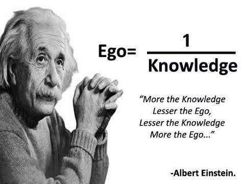 Egoul in viziunea lui Albert Einstein